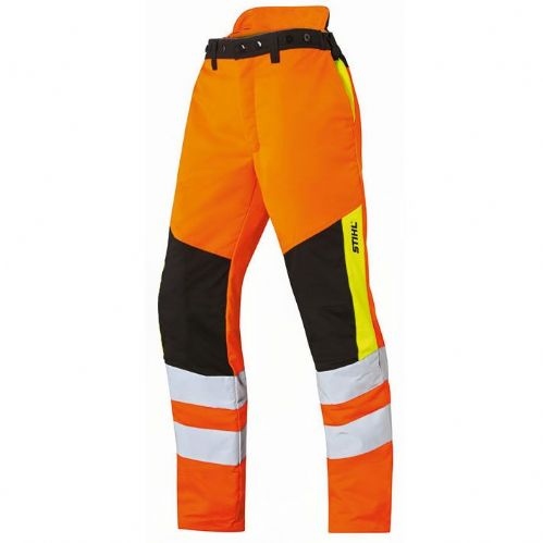 Genuine STIHL Protect MS cut protection High Vis trousers